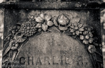 Floral Embellishment Grave Lone Fir Cemetery Portland