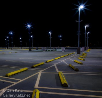 Mall Parking at Night
