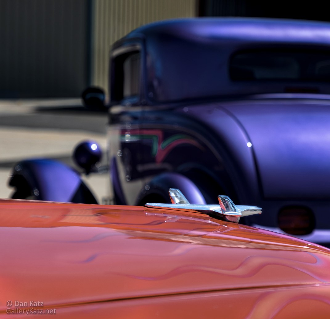 Hot Rods in Red and Blue